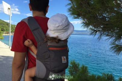 Kad se dijete može nositi u klokanici