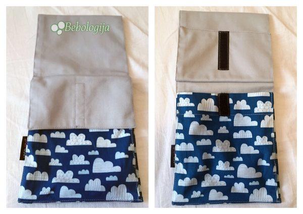 LocoLobo Click & Go torbica koja se stavlja na remen na pojasu.