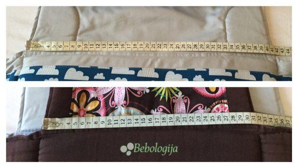 LocoLobo Clik&Go i Pixiekid Mei Tai imaju istu preporuku za nošenje od 4 mjeseca, no razlikuju se širinom u čak 10 centimetara.